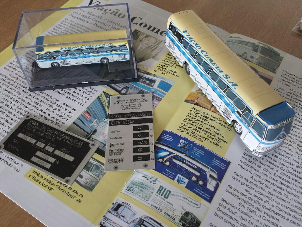 046a0734c2 REVISTA COLECIONISMO BR MINIATURA ÔNIBUS VIAÇÃO COMETA RCBR27, REVISTA  COLECIONISMO BR. VOLAREBRASIL MINIATURAS 1/43 e RÉPLICAS 1/400