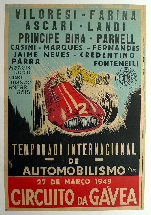Circuito Da Gavea : Maserati cl chico landi circuito da gÁvea rio de janeiro